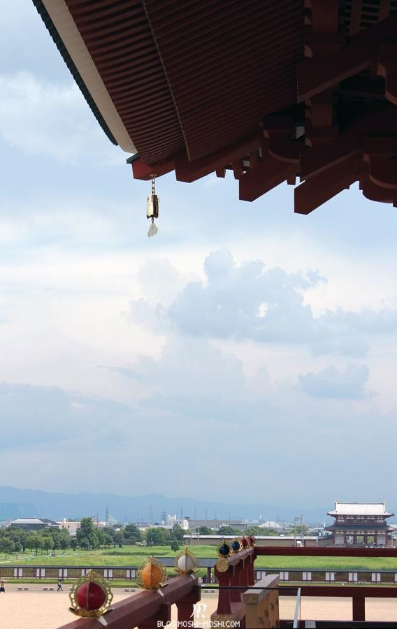 Nara-palais-heijo-premier-daigokuden-vue-porte-suzakumon