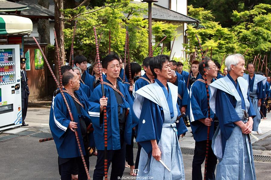 nikko-shunki-reitaisai-matsuri-grand-festival-de-printemps-defile-samurai-archers