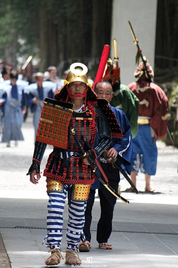 nikko-shunki-reitaisai-matsuri-grand-festival-de-printemps-otabisho-arrivee-samurai-solitaire