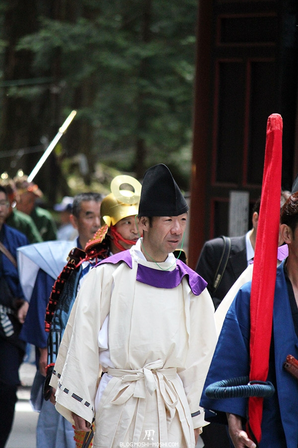nikko-shunki-reitaisai-matsuri-grand-festival-de-printemps-otabisho-pretre-blanc