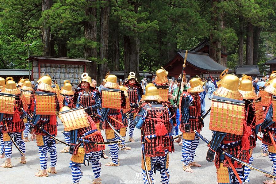 nikko-shunki-reitaisai-matsuri-grand-festival-de-printemps-otabisho-samurai-en-armure