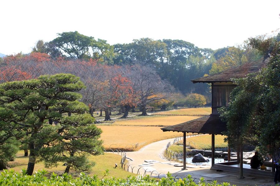 okayama-jardin-koraku-en-saison-momiji-vers-coin-zen