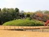 okayama-jardin-koraku-en-saison-momiji-colline-artificielle