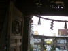 sanctuaire-oyama-Kanazawa-portail-principal-vue-rue