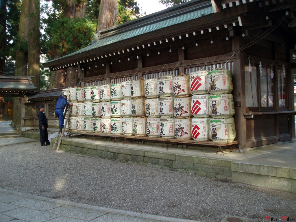shrine-shirayama-hime-offrande-sake