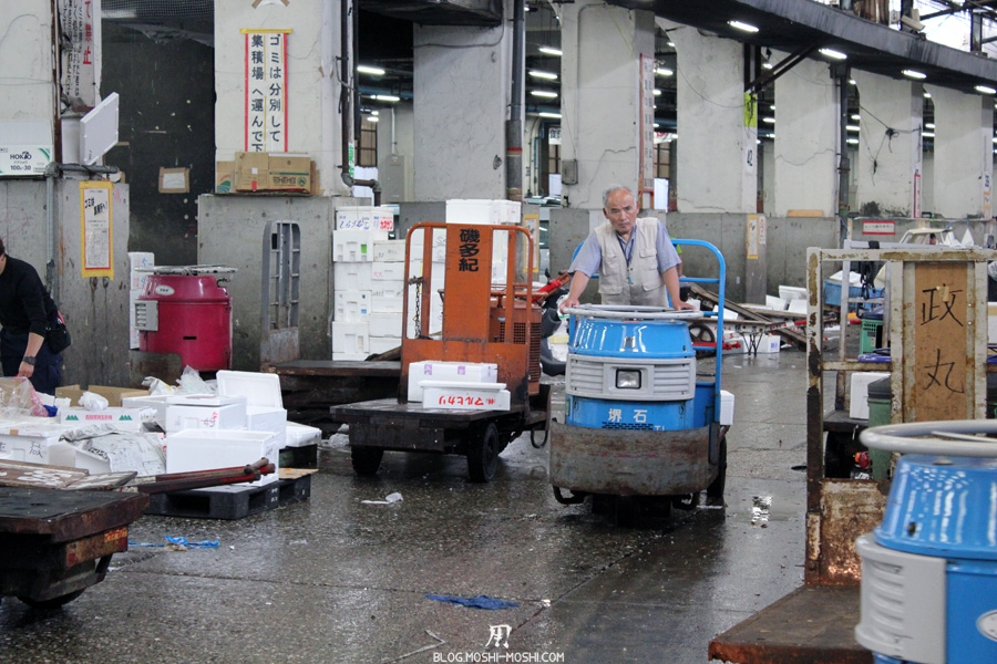 marché de Tsukiji Tokyo