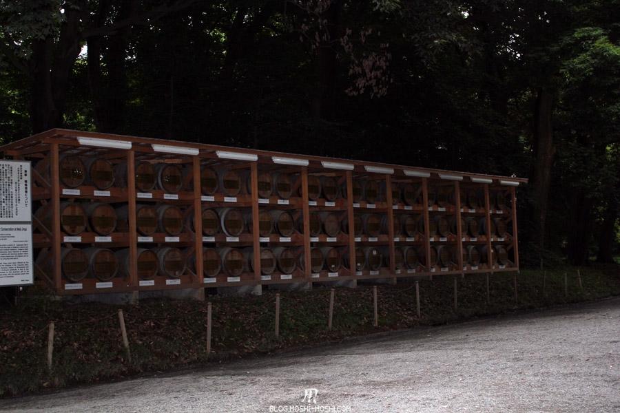 parc-Meiji-Jingu-Tokyo-offrande-sake-tonneau