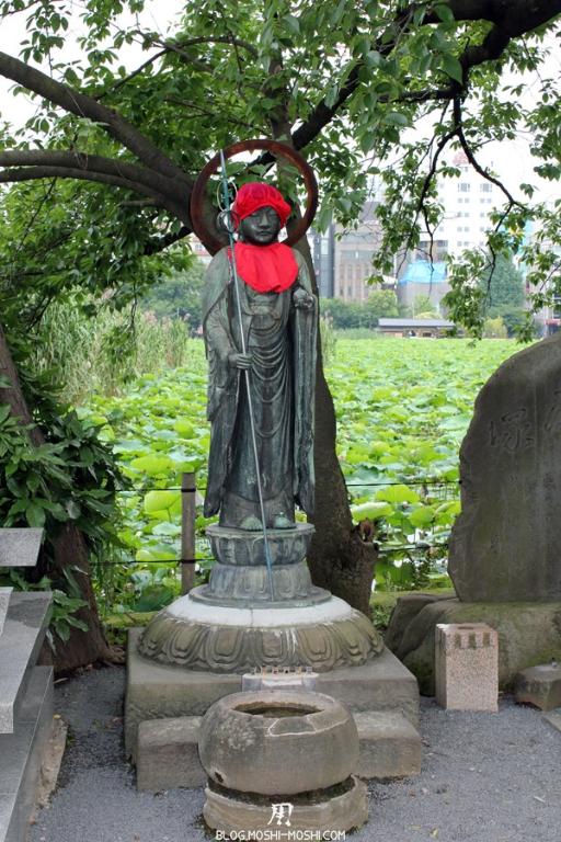 parc-ueno-Tokyo-sanctuaire-bentendo-jizo