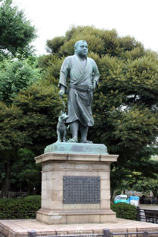 parc-ueno-Tokyo-statue-saigo-takamori