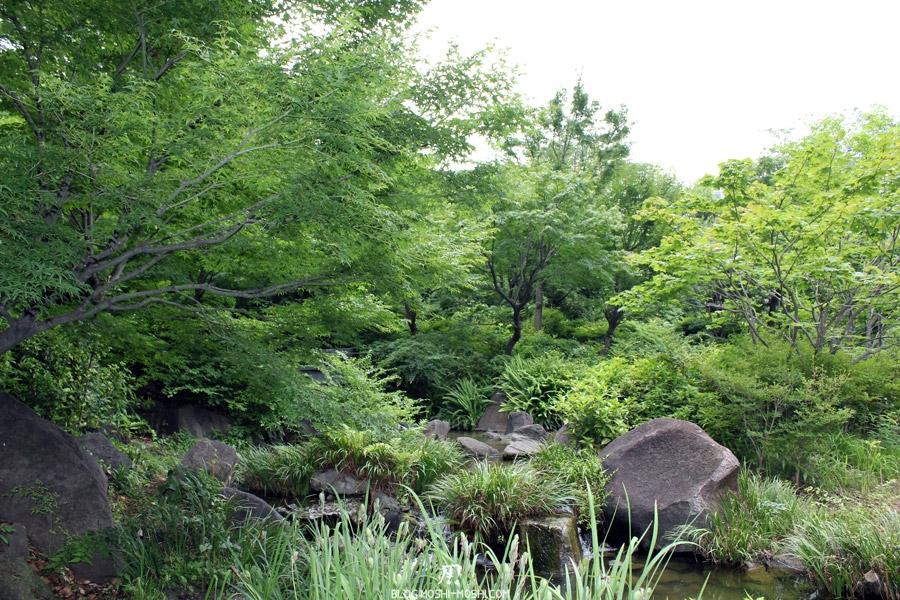 quartier-roppongi-Tokyo-parc-roseau