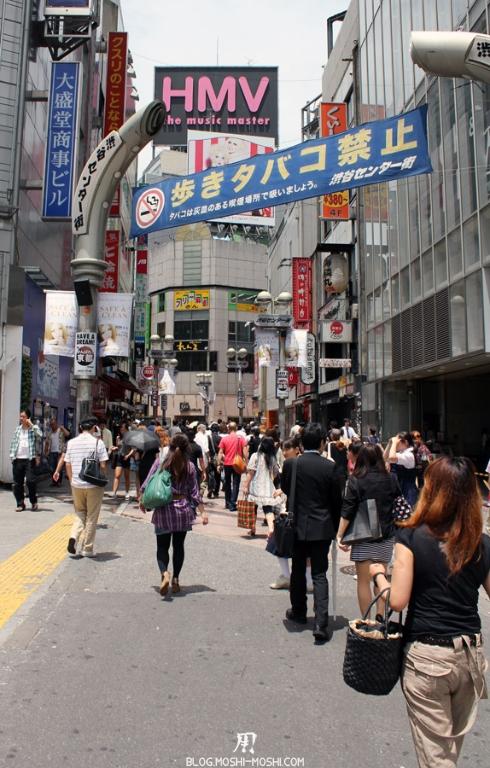 quartier-shibuya-Tokyo-rue-hmv