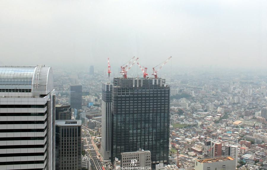 quartier-shinjuku-Tokyo-building-dernier-etage-vue-tokyo