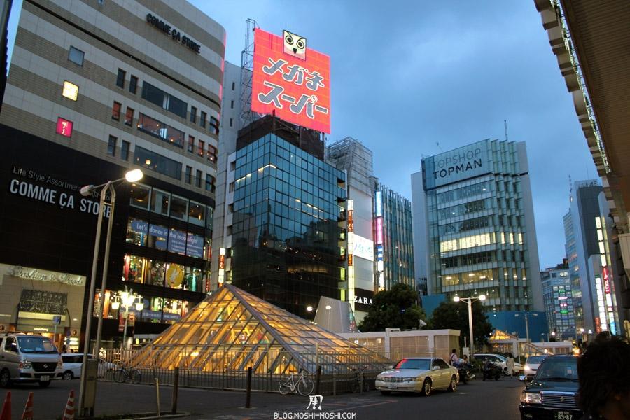 quartier-shinjuku-Tokyo-nuit-cote-gare