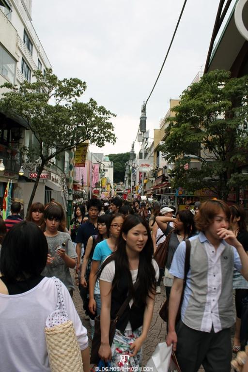 quartier-harajuku-Tokyo-takeshita-dori-foule-grandissante