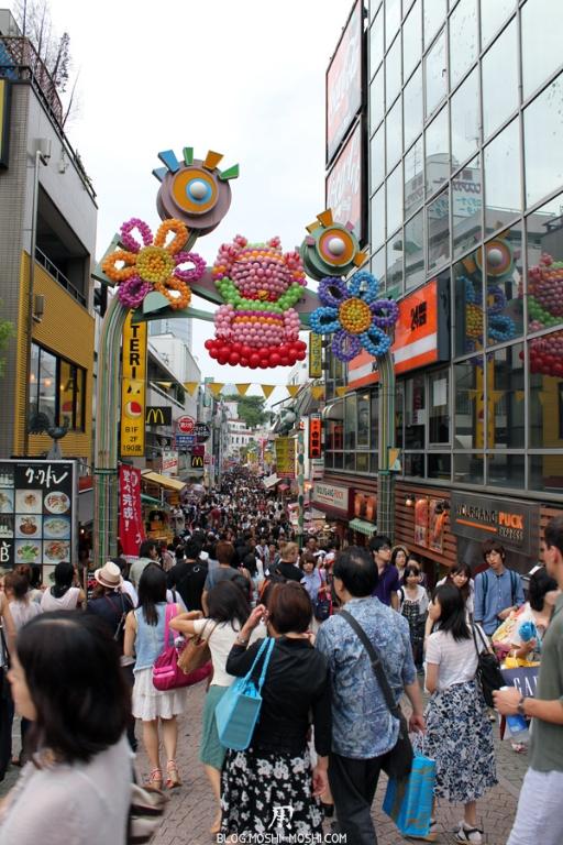 quartier-harajuku-Tokyo-takeshita-dori-porte-coloree