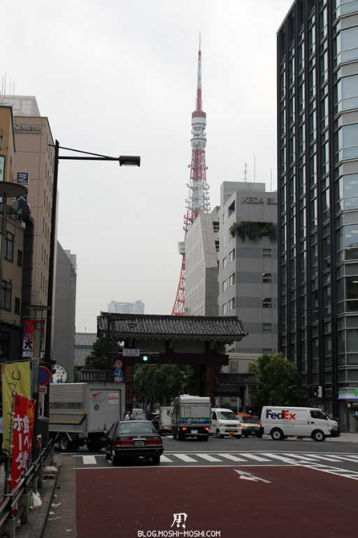 temple-zojoji-Tokyo-sur-la-route