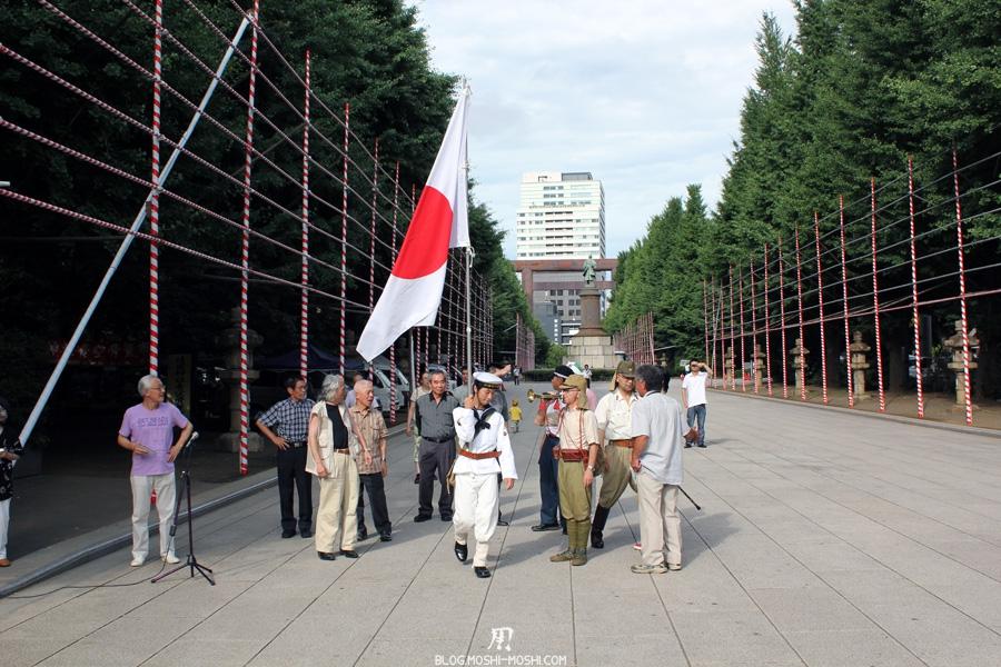 yasukuni-jinja-Tokyo-groupe-musique-nationaliste