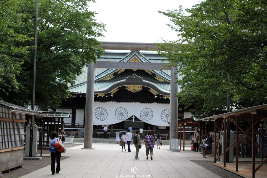 yasukuni-jinja-Tokyo-sanctuaire-torii