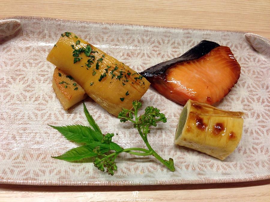 Visitez Kanazawa journee-kanazawa-restaurant-hanano-はな乃-poisson-patate-douce