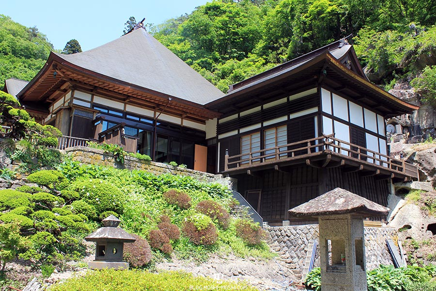 sendai-yamagata-temple-yamadera-risshaku-ji-batiment-bois-recent