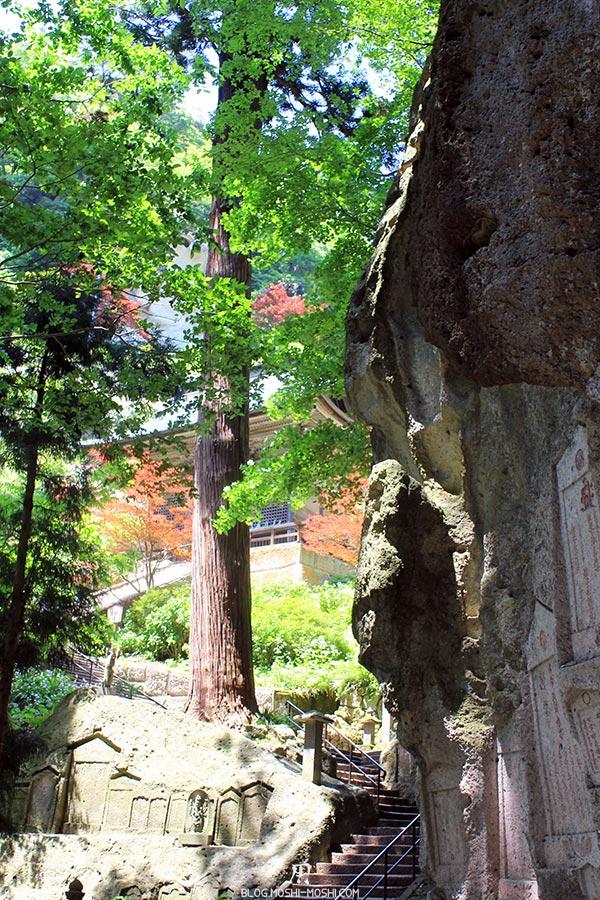 sendai-yamagata-temple-yamadera-risshaku-ji-escalier-falaise-dernier-palier