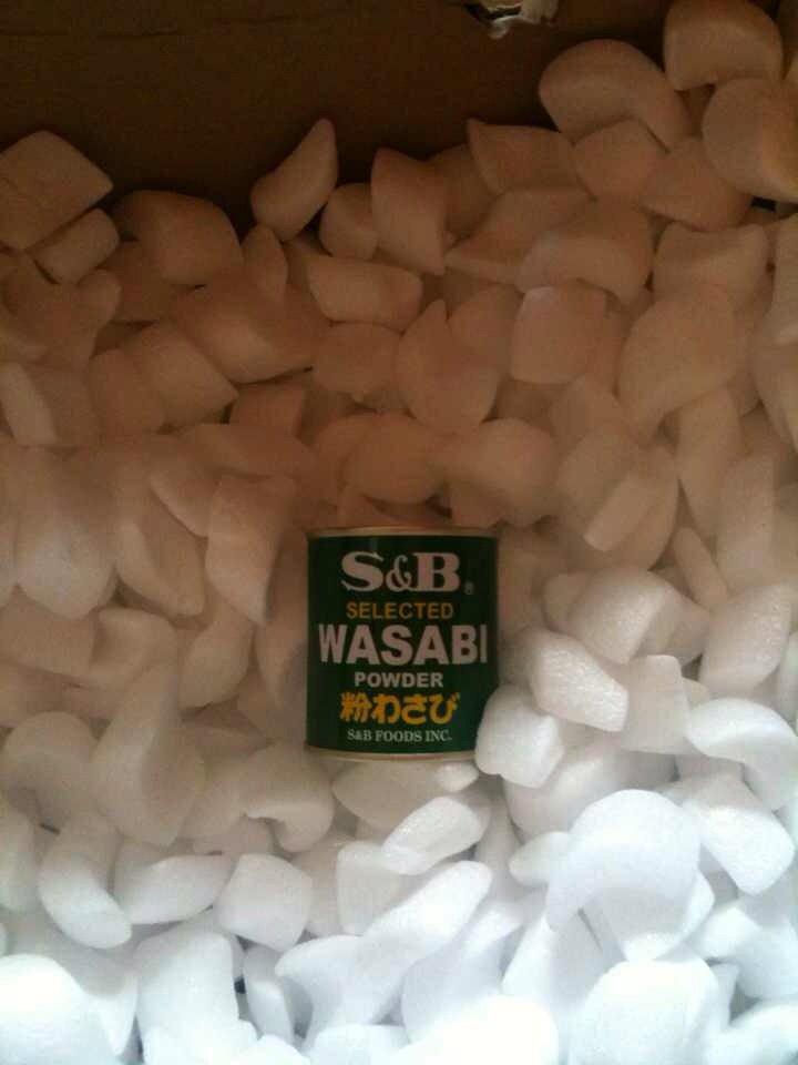 La boîte de Wazabi oubliée... La pauvre :/