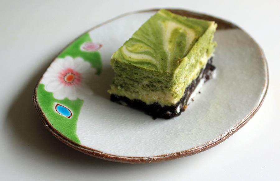 recette_gateau_dessert_japonais_matcha_cheese_cake_assiette_ishikawa