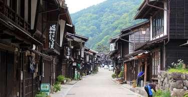 Narai Juku, un village étape de la Nakasendo