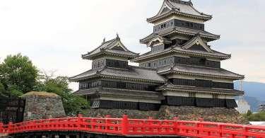 La château de Matsumoto